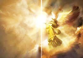 Angel sent by Jehovah