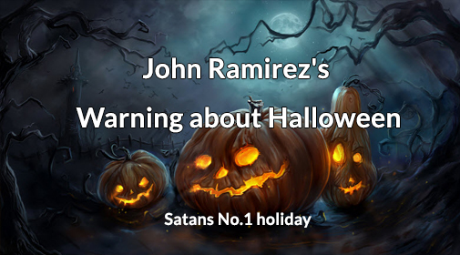 author minister john ramirez an ex satanist joins the blastoff crew on launch radio to unmask halloween and the reality of the spiritual warfare and