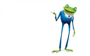Frog-in-a-Blue-Suit