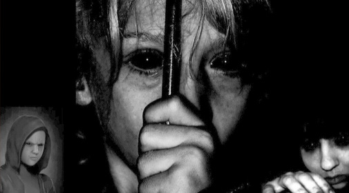 The mystery of the black eyed children - very scary