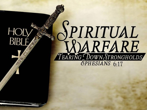 Spiritual Warfare & The Purple Robe Book 14