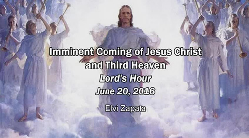 Imminent Coming of Jesus Christ and the Third Heaven