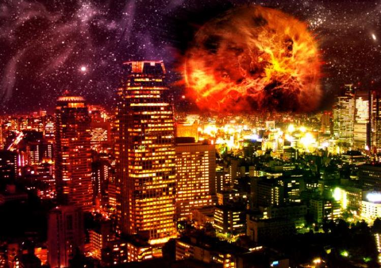 planets crashing