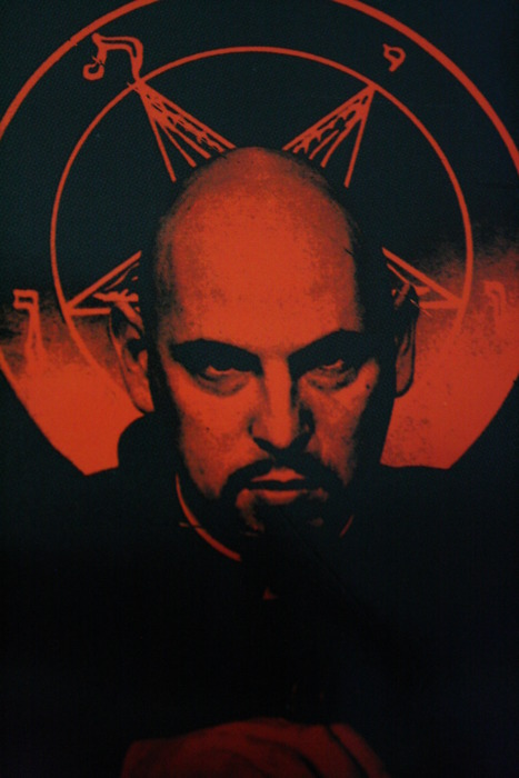 Anton LaVey in hell