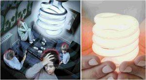 Beware light bulbs