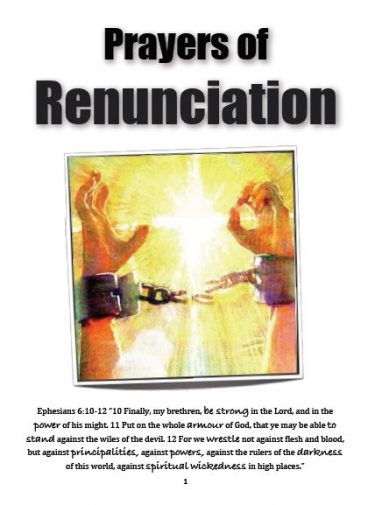 Prayer of Renunciation of the Jezebel Spirit and to Break Jezebelic