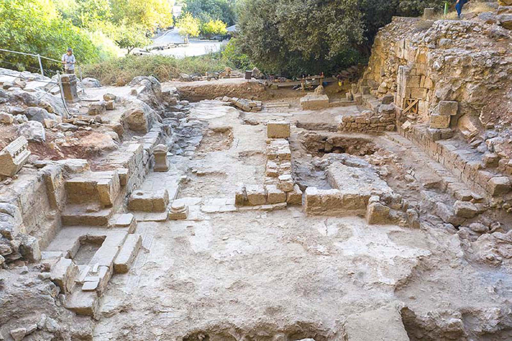 """Researchers have unearthed an ancient church — believed to be the site of a biblical """"miracle"""" — in Israel."""