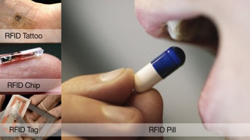RFID Chips, Tattoo, Pill, Tag