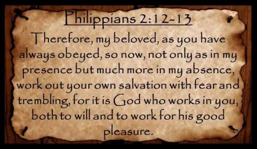 Work Out Your Salvation With Fear And Trembling Bread